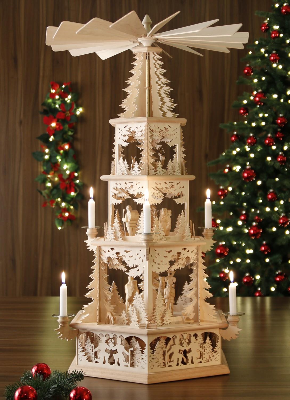 Original Weihnachtspyramiden aus dem Erzgebirge ...