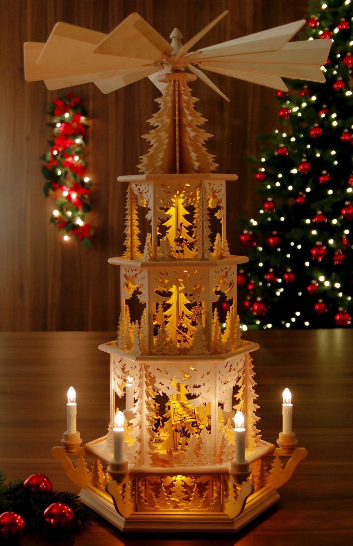 original weihnachtspyramiden aus dem erzgebirge kategorie elektrisch elektrische pyramide. Black Bedroom Furniture Sets. Home Design Ideas