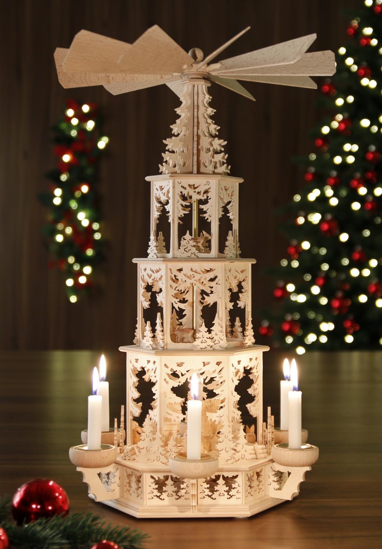 original weihnachtspyramiden aus dem erzgebirge weihnachtspyramide. Black Bedroom Furniture Sets. Home Design Ideas